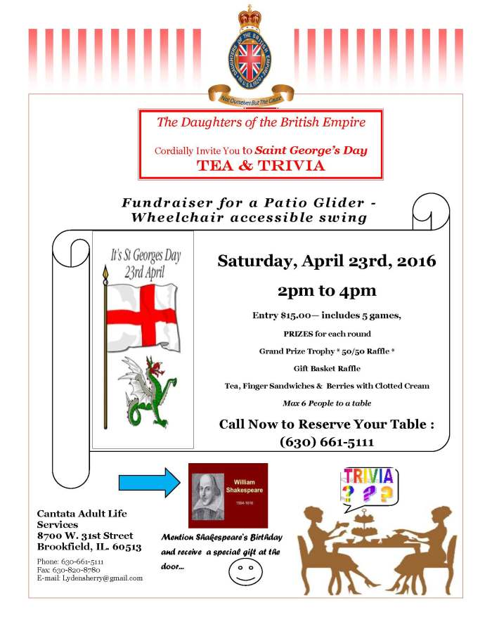 St Georges Day 2016